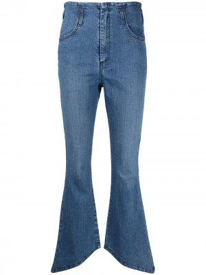 Расклешенные джинсы Federica Tosi. Цвет: синий