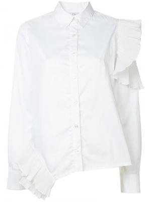 Asymmetric shirt Clu. Цвет: белый