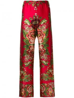 Пижамные брюки Ade F.R.S For Restless Sleepers. Цвет: красный
