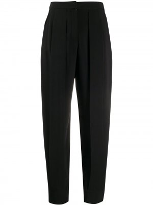 Зауженные брюки с завышенной талией Stella McCartney. Цвет: черный