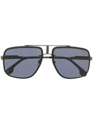 Солнцезащитные очки Gaglory II с затемненными линзами Carrera. Цвет: черный