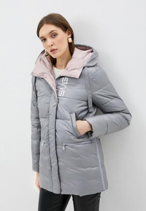 Куртка утепленная Savage. Цвет: серый