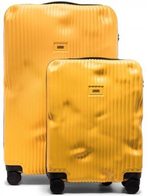 Набор чемоданов Crash Baggage. Цвет: желтый