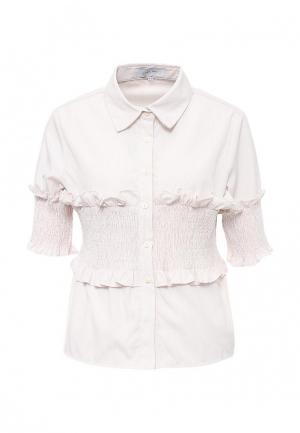 Блуза Lost Ink. Цвет: бежевый