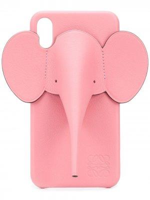 Чехол для iPhone XS Max LOEWE. Цвет: розовый