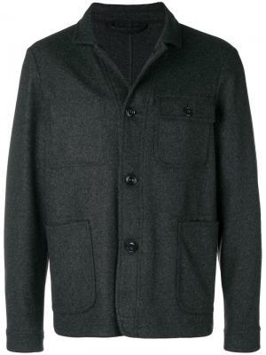Куртка-рубашка на пуговицах Altea. Цвет: серый