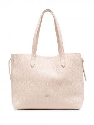 Большая сумка-тоут Grace Furla. Цвет: розовый