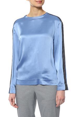 Блузка Brunello Cucinelli. Цвет: голубой