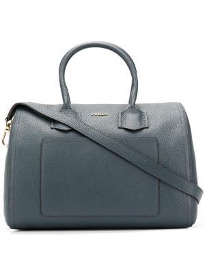 Alba satchel bag Furla. Цвет: серый