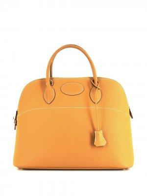 Большая сумка Bolide Hermès. Цвет: желтый