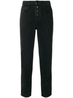 Прямые джинсы J Brand. Цвет: черный