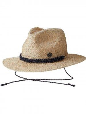 Соломенная шляпа Rico Maison Michel. Цвет: нейтральные цвета