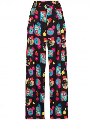 Пижамные брюки с принтом Opening Ceremony. Цвет: черный
