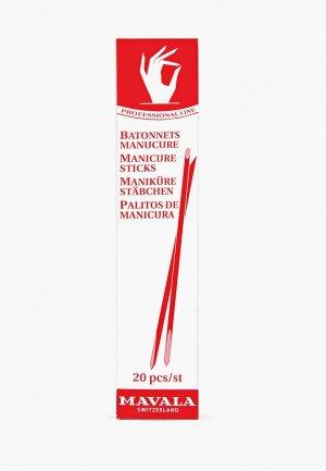 Палочки для маникюра Mavala. Цвет: прозрачный
