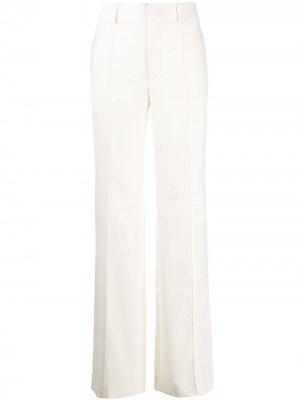 Расклешенные брюки Chloé. Цвет: белый