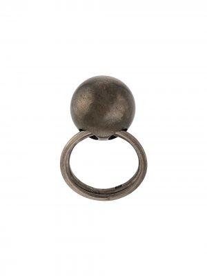Декорированное кольцо Ann Demeulemeester. Цвет: коричневый
