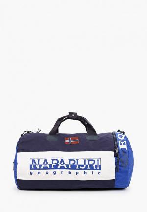Сумка спортивная Napapijri. Цвет: синий