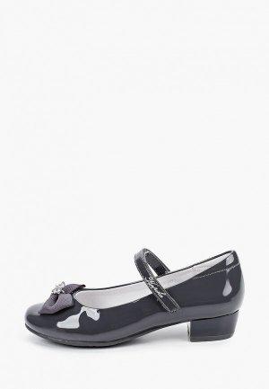 Туфли Kapika. Цвет: серый