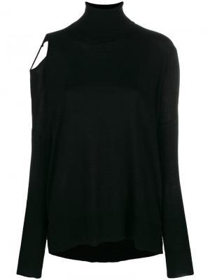 Cut-out shoulder jumper P.A.R.O.S.H.. Цвет: черный