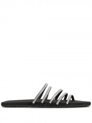 Босоножки с ремешками Pedro Garcia. Цвет: черный