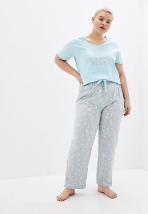 Пижама Evans. Цвет: разноцветный