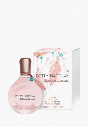 Туалетная вода Betty Barclay. Цвет: прозрачный
