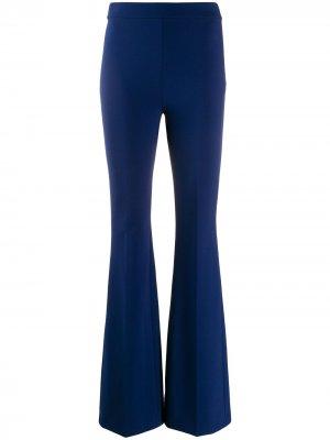 Расклешенные брюки Emilio Pucci. Цвет: синий