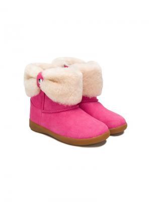 Сапоги UGG Kids. Цвет: розовый