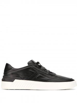 Tods кроссовки с логотипом Tod's. Цвет: черный