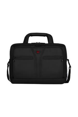 Портфель для ноутбука WENGER. Цвет: черный