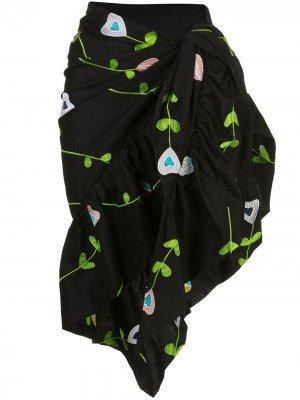 Саронг Marea с вышивкой Cynthia Rowley. Цвет: черный