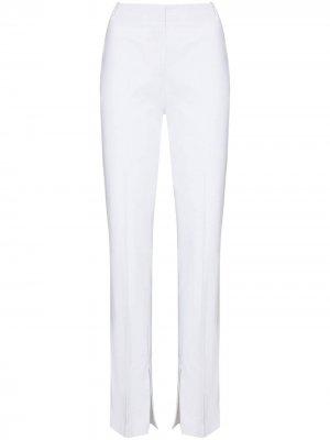 Прямые брюки FRAME. Цвет: белый