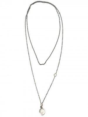 Ожерелье с подвесками Werkstatt:München. Цвет: золотистый