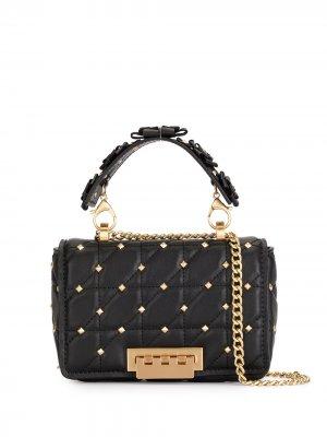 Стеганая сумка на плечо Earthette Zac Posen. Цвет: черный