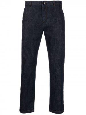 Зауженные джинсы Pt05. Цвет: синий