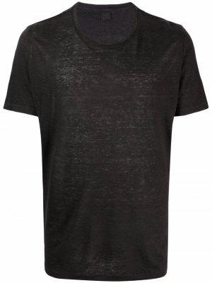 Базовая футболка 120% Lino. Цвет: черный