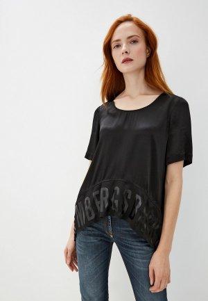 Блуза Bikkembergs. Цвет: черный