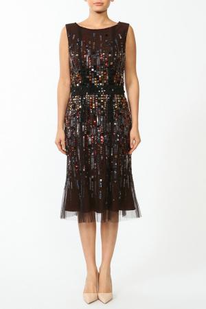Платье Carolina Herrera. Цвет: черный