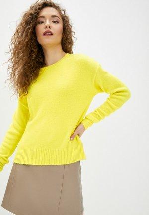Джемпер Jacqueline de Yong. Цвет: желтый