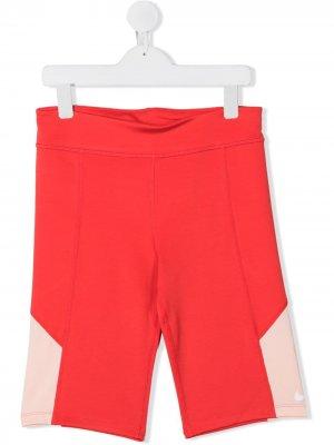 Облегающие шорты Nike Kids. Цвет: розовый