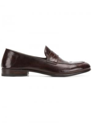 Classic slip-on loafers Alberto Fasciani. Цвет: коричневый