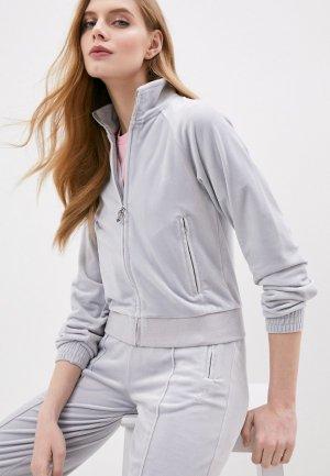 Олимпийка Juicy Couture. Цвет: серый