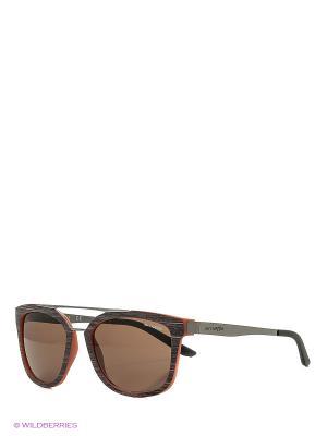 Очки солнцезащитные JUNCTURE ARNETTE. Цвет: коричневый
