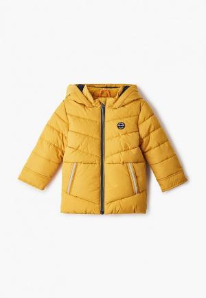 Куртка утепленная s.Oliver. Цвет: желтый