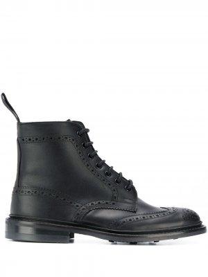 Trickers ботинки Stow Tricker's. Цвет: черный