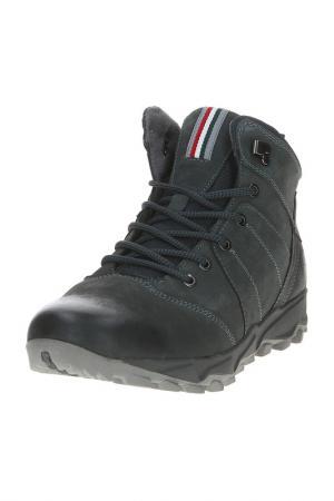 Ботинки AG. Цвет: серый