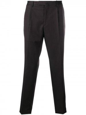 Delloglio брюки чинос с потайной застежкой Dell'oglio. Цвет: коричневый