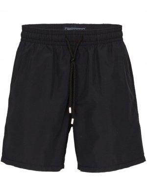 Плавки-шорты Moorea Vilebrequin. Цвет: черный