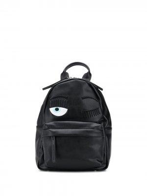 Рюкзак Eye Wink Chiara Ferragni. Цвет: черный