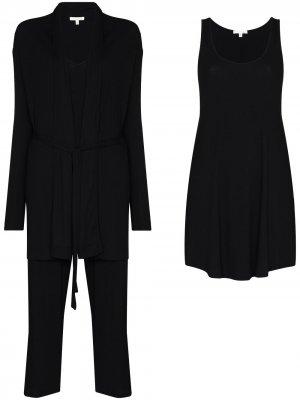 Комплект одежды для дома  WFH-Kit Skin. Цвет: черный